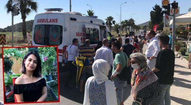 Kazada ağır yaralanan Eylem, 14 günlük hayat mücadelesini kaybetti