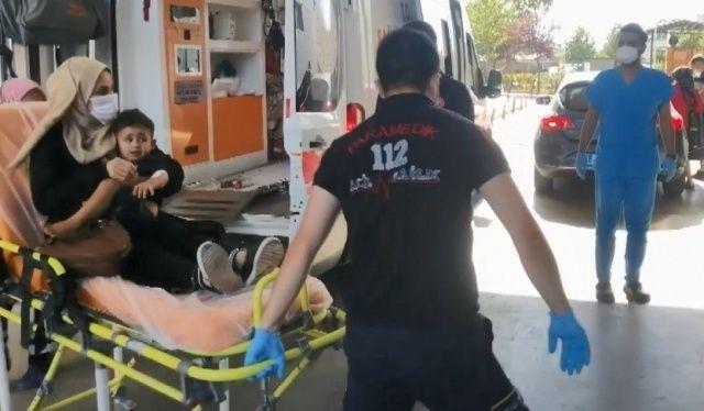 Kocaeli'de balkondan düşen 2 yaşındaki çocuk hastaneye kaldırıldı