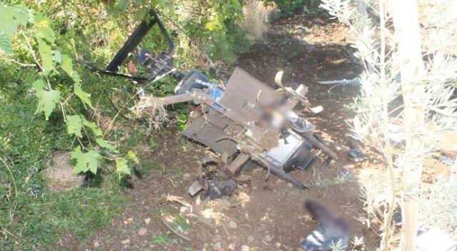 Korkunç! 4 çocuk babası adam her iki bacağını da çapa motoruna kaptırdı