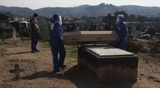Kovid-19 nedeniyle son 24 saatte Brezilya'da 1280, Meksika'da 648, Hindistan'da 507 kişi öldü
