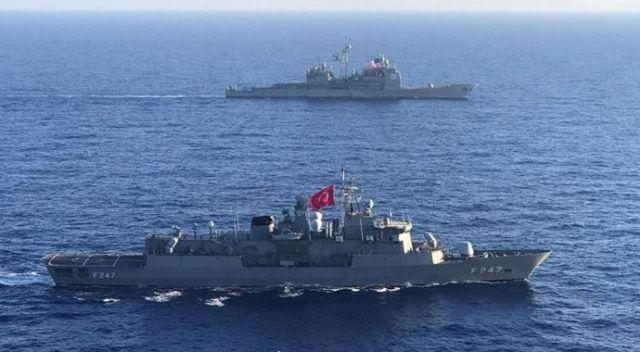MSB: Akdeniz'de ABD ile ortak tatbikat gerçekleştirildi