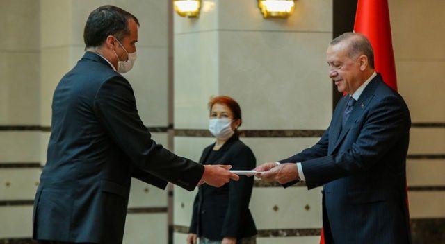 Polonya Büyükelçisi Kumoch, Cumhurbaşkanı Erdoğan'a güven mektubu sundu