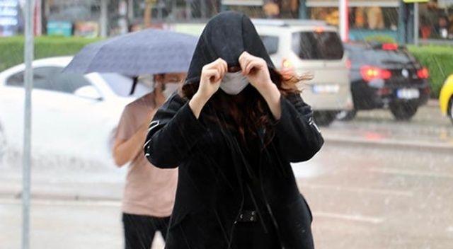 Sağanak yağış geliyor! 9 temmuz Hava Durumu