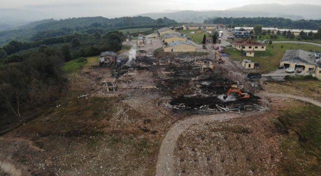 Sakarya'da havai fişek fabrikasındaki patlamaya ilişkin idari soruşturma başlatıldı
