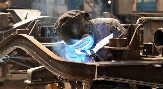 Sanayi üretimi mayısta aylık bazda yüzde 17,4 arttı
