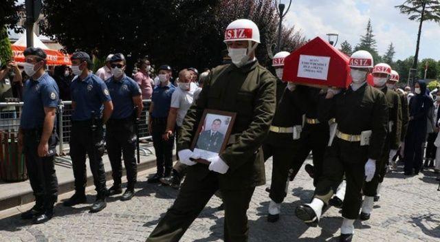 Şehit Astsubay Ethem Demirci Samsun'da son yolculuğuna uğurlandı