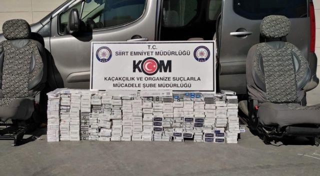 Siirt merkezli 5 ilde kaçak sigara operasyonu: 21 gözaltı