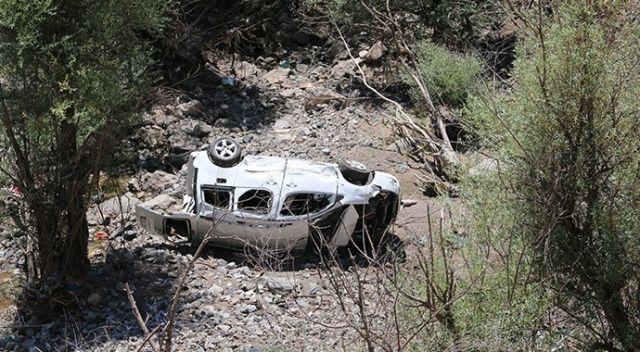 Şırnak'ta trafik kazası: 1 ölü, 3 ağır yaralı