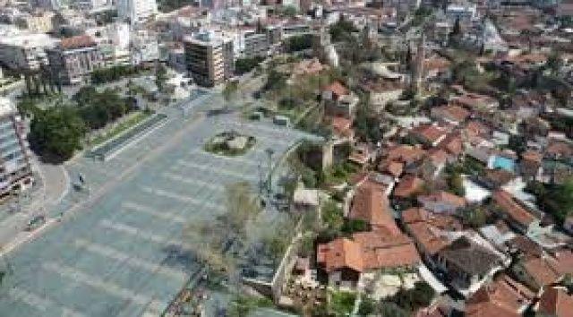 Sivas'ta bir köyde Covid-19 karantinası
