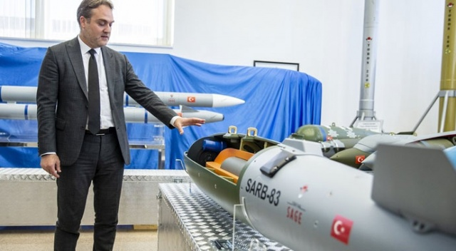 Yerli uçak bombası göreve hazır