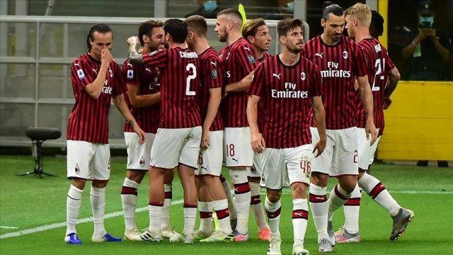 Zlatan İbrahimovic ve Hakan Çalhanoğlu Milan'ı galibiyeti taşıdı
