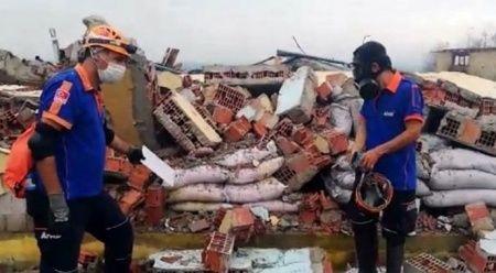Patlamada hayatını kaybeden 2 kişinin kimlikleri belli oldu