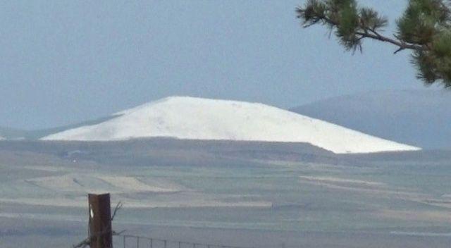 Ağustos ayında kar yok artık dedirtti!
