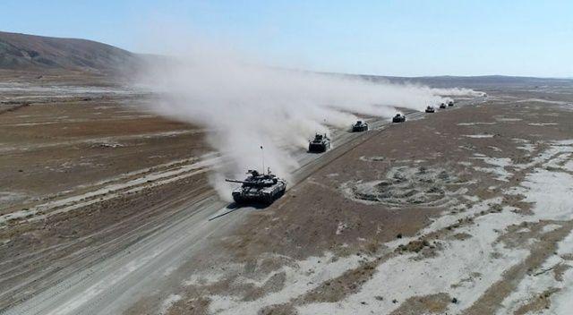 Azerbaycan-Türkiye ortak askeri tatbikatlarında görevler başarılı şekilde icra edildi