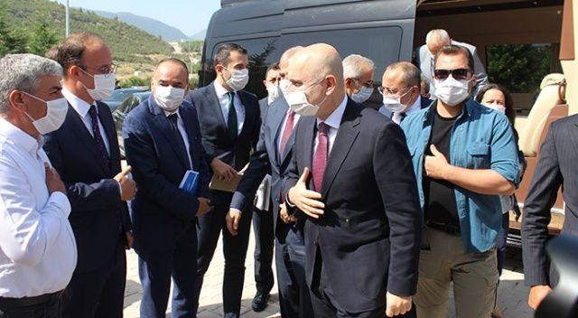 Bakan Karaismailoğlu'ndan Aydın-Denizli otoyolu açıklaması