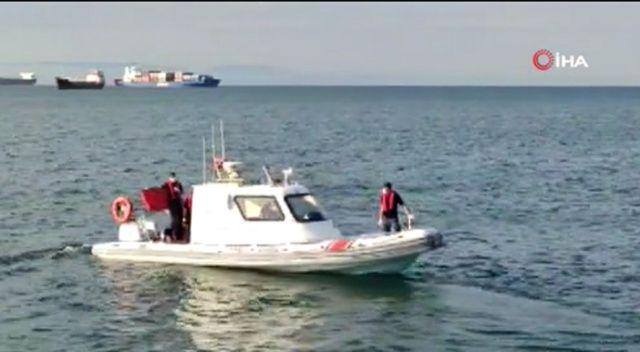 Bakırköy sahilinde denizde ceset bulundu