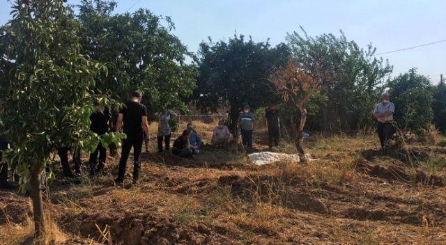 Bekçilik yaptığı portakal bahçesinde ölü bulundu