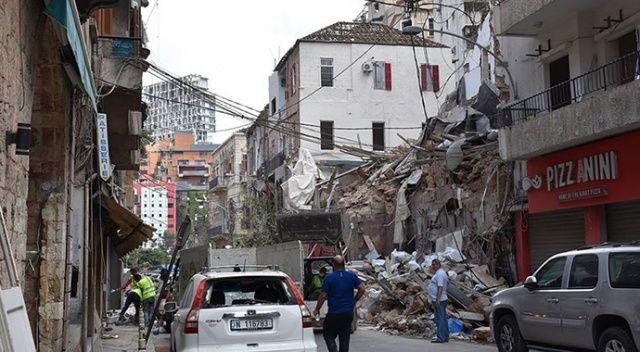 Beyrut Limanı'ndaki şiddetli patlama hastaneleri de vurdu