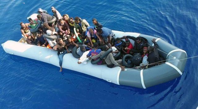 Botun motorunu söküp Türk karasularına ittiler