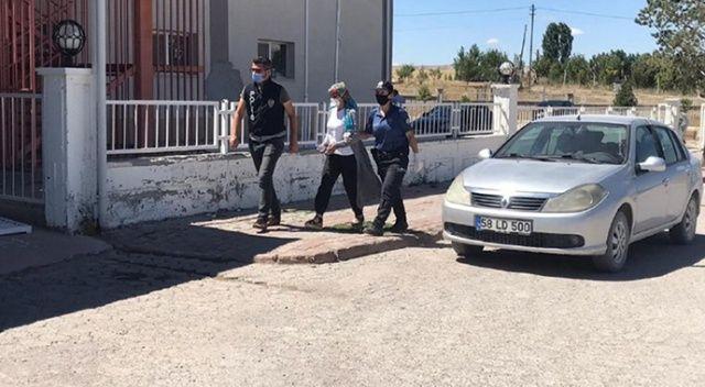 Cinayet zanlısı kadın tutuklandı