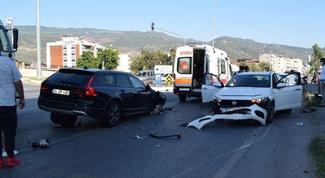 Çine'de trafik kazası: 6 yaralı