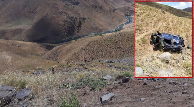 Erciş'te trafik kazası: 1 ölü , 2 yaralı