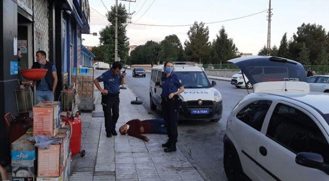 Fare zehri içip intihar ettiğini söyledi polisi arayıp yardım istedi