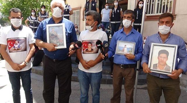 HDP'lilerin evlat nöbetindeki anne ve babaları tehdit ettiği iddiası