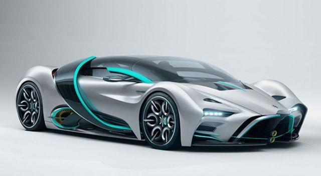 Hidrojen yakıtlı süper otomobil: Hyperion XP-1