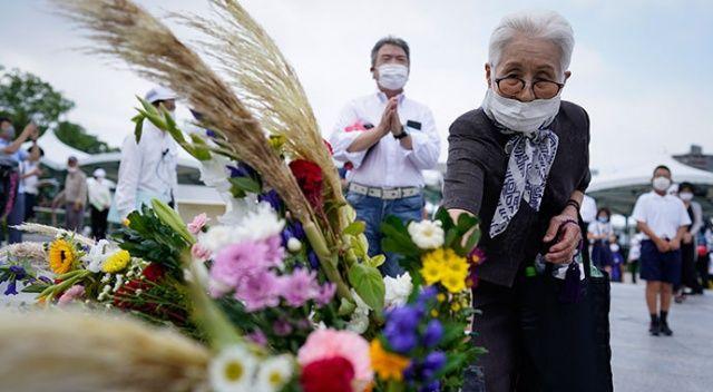 Hiroşima'da saldırının 75. yıl dönümünde kurbanlar anıldı
