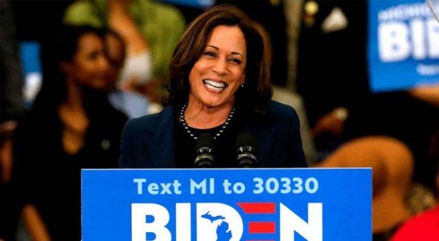 Joe Biden'ın başkan yardımcısı adayı Kamala Harris