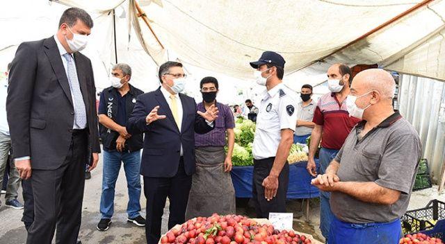 Kadıköy'de yoğun koronavirüs denetimi