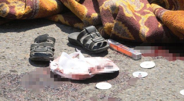 Kamyonun altında kalan 2 kardeşten biri feci şekilde can verdi, diğeri ağır yaralandı
