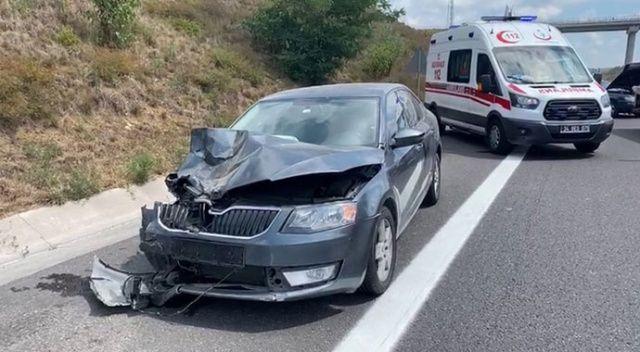 Kuzey Marmara Otoyolu'nda kaza: 1 ölü, 2'si çocuk 4 yaralı