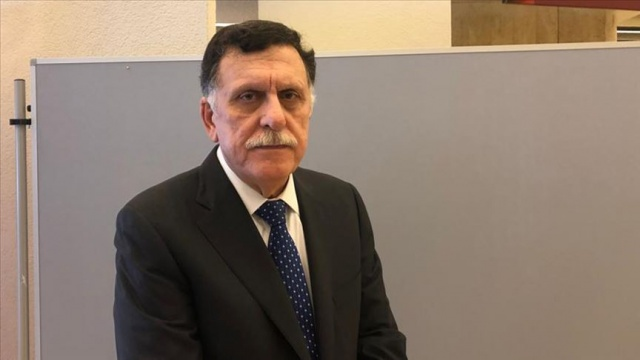 Libya Başbakanı Serrac, İtalya Savunma Bakanı ile kalıcı ateşkesi görüştü
