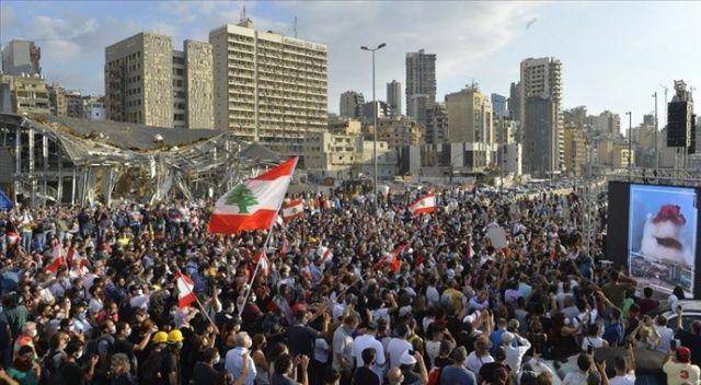 Lübnan'daki gösterilerde 42 kişi yaralandı