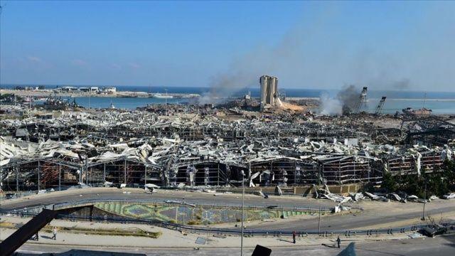 Lübnan Ekonomi Bakanı: Patlamanın sonuçlarıyla mücadele edecek ekonomik gücümüz yok