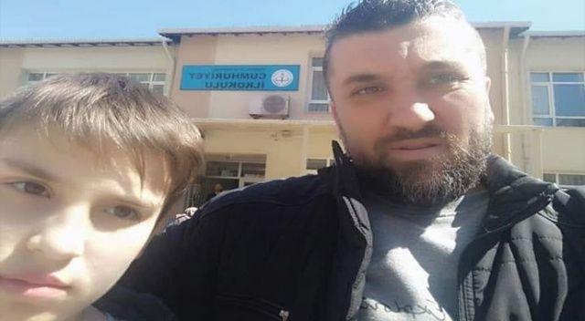 Oğlunu kurtarmak isteyen baba hayatını kaybetti