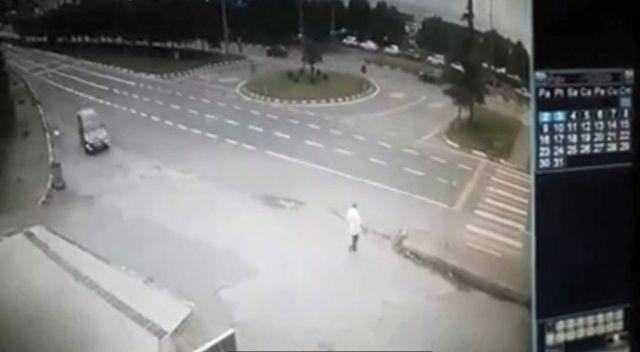 Ölüm böyle geldi... Sürücü serbest kaldı
