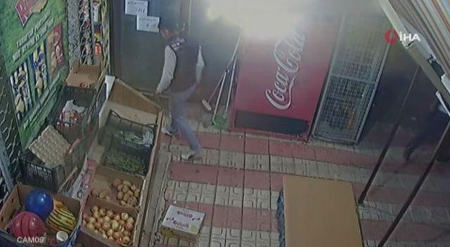 Pompalı tüfekle market soydu, çağırdığı taksiyle kaçtı