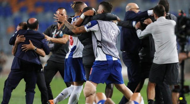 Portekiz Kupası'nda kazanan Porto