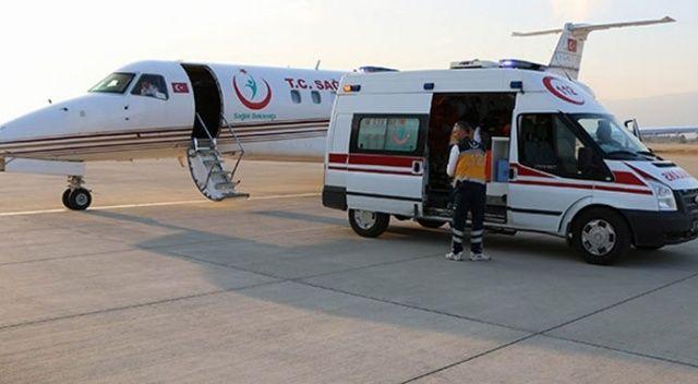 Rusya'daki Kovid-19 hastası Türk vatandaşı Türkiye'ye getirildi