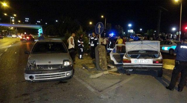 Samsun'da otomobiller çarpıştı: 7 yaralı