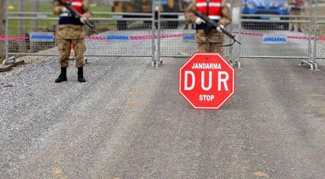 Vaka sayısı arttı, köye giriş çıkışlar kapatıldı