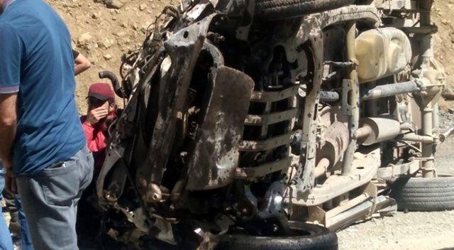 Yüksekova'da uçuruma yuvarlanan araçtaki 6 kişi hayatını kaybetti