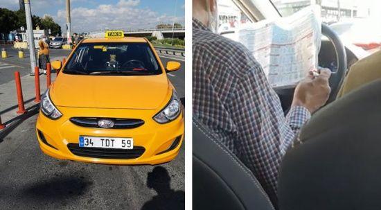İstanbul'da trafikte at yarışı oynayan taksici yakalandı