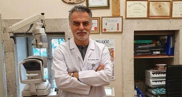 'Koronavirüse karşı gözlük takın'