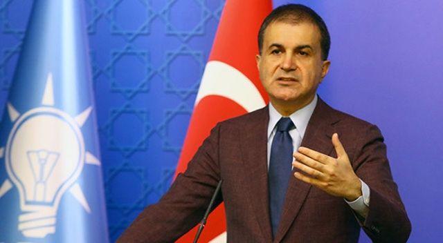 AK Parti Sözcüsü Çelik: Bu alçak ifadeler o politikacıların alnına yapışır