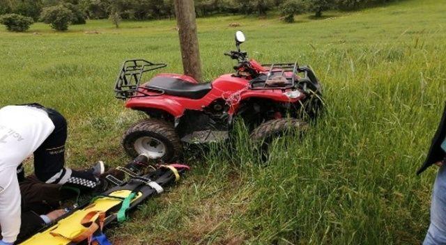 Alanya'da ATV ile gezi ölümle bitti