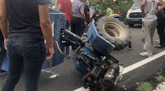 Alaplı'da patpat kazası: 1'i ağır, 3 yaralı
